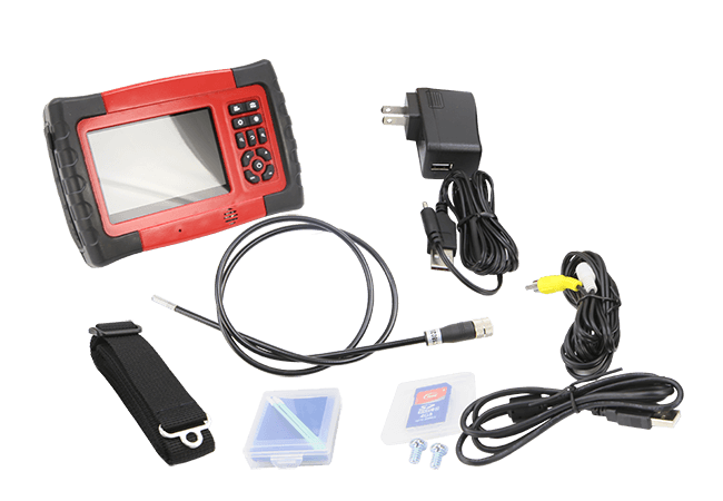 5 inch inspection camera with accessories